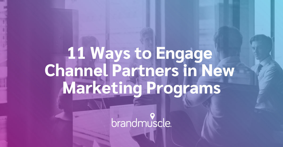 engage channel partners
