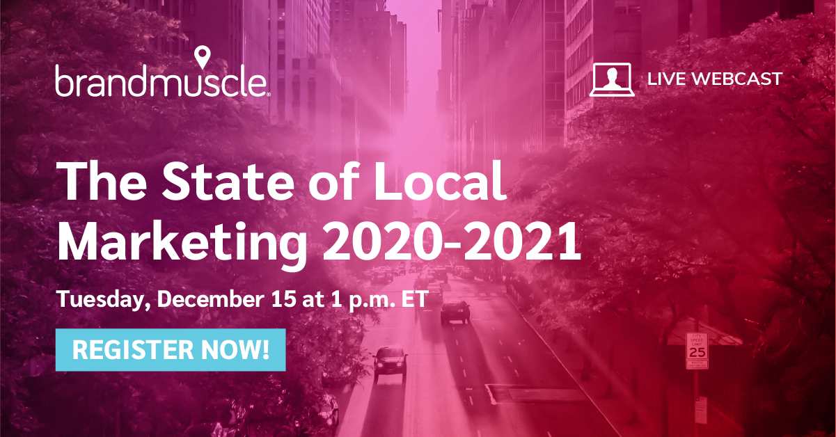 State of Local Marketing 2020-2021 webcast