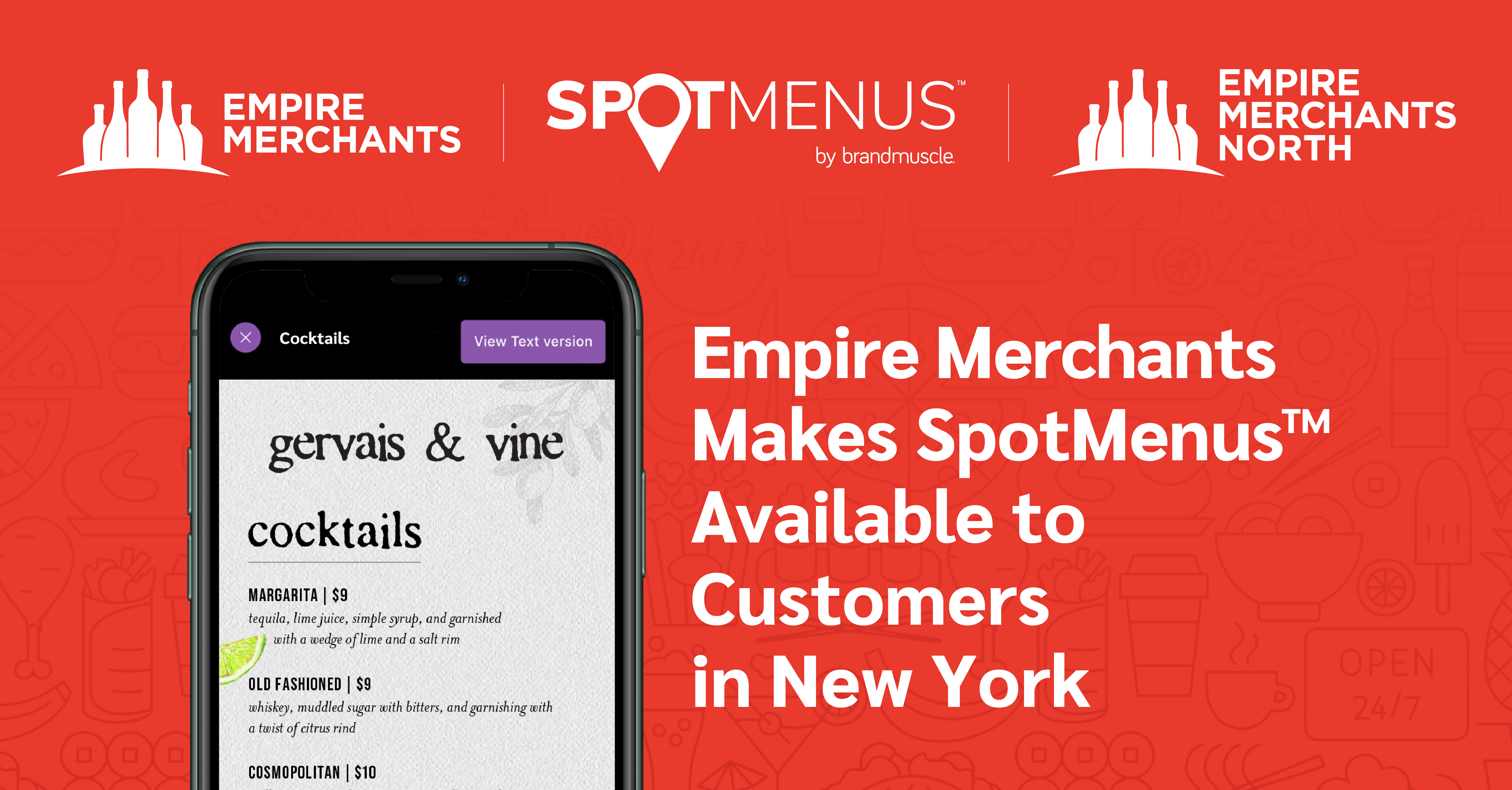 Empire Merchants SpotMenus