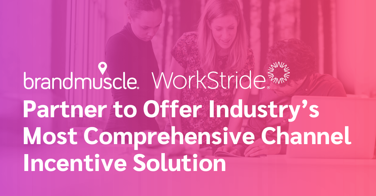 WorkStride & BrandMuscle Partnership